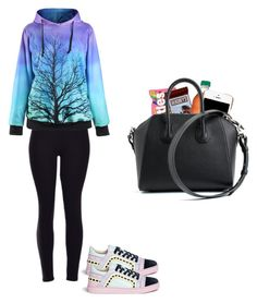 """Untitled #52"" by madison976 ❤ liked on Polyvore featuring Sophia Webster, Hershey's, Moschino, Givenchy, women's clothing, women's fashion, women, female, woman and misses"