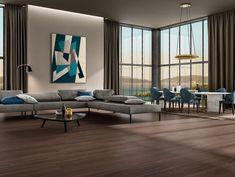 WOODLAND Collection | Cotto d'Este Flooring and Cladding Design Bleu, Background Tile, Living Spaces, Living Room, Interior Exterior, Types Of Wood, Cladding, Teak, Woodland