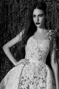 Zuhair Murad Bridal Fall 2016 Fashion Show  The full, removable ball skirts lend an instant fairy-tale quality to any gown, and this time around, he sprinkled in a little extra magic with yards of tulle, embroideries, point d'esprit, and sparkling beads. Suffice it to say, Murad's creations aren't for minimalist brides.
