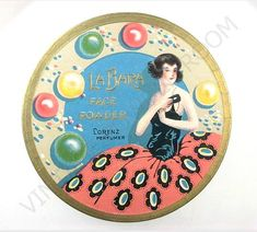 Check out this superb makeup tin from the 1920s. Then check out the excellent website it came from - vintagepowderroom.com.
