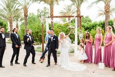 Old Polo Estate Wedding in Palm Springs during the Pandemic | Palm Springs Intimate Wedding Photos | Palm Springs Wedding Photography for fun people. Get all the inspo for your small wedding on my boards ✨ #palmspringswedding #smallwedding #oldpoloestate #oldpoloestatewedding Source: Cheers Babe Photo | Los Angeles
