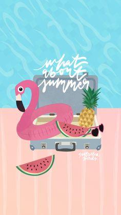 Un fond d'écran pour vous souhaiter un joli été accompagné de bouée, pastèque, ananas et piscine ! Moi je suis actuellement en Grèce (et je suis donc moins présente ici, mais vous pouvez me suivre sur Instagram ici ou Snapchat avec le pseudo Natachabirds), je vous embrasse ! iPhone 6 …