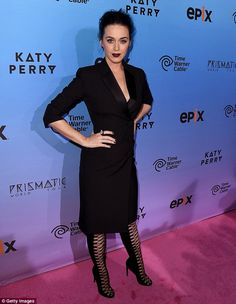Sharp:Her fancy footwear featured a solid back and a crisscrossing of laces in the front all the way up