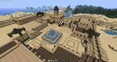 minecraft desert castle - Google Search