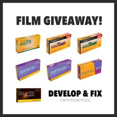 Enter to win the Kodak lineup of film in 120!