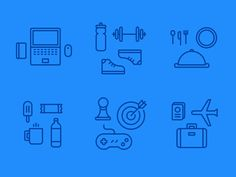 100+ Creative Line Icons and Logos That Will Inspire You!
