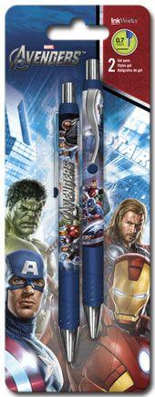 The Avengers - Gel Pen - 2pk