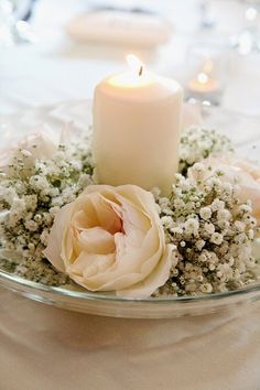 greenery centrepieces - Google Search