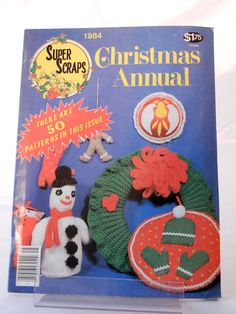 Super Scraps Christmas Craft Magazine 1984 by CandyAppleCrafts, $7.00