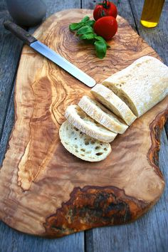 large rustic wooden serving board by the rustic dish | notonthehighstreet.com