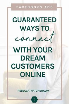 Tired of creating audiences and never getting the results you desire with your Facebook ads? The only thing standing in your way is knowing how to target the RIGHT people. Discover how to connect with your DREAM CUSTOMERS, with The Ultimate Audience Building Bundle. This is essential for every online coach or digital entrepreneur that wants to scale with ads! #FacebookAds #MarketingTips Perfect People, You Are Perfect, Engagement Tips, Online Coaching, Online Entrepreneur, For Facebook, Facebook Marketing, Online Business, Tired