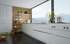 SieMatic FloatingSpaces - Meer keuken-, woon- en speelruimte voor ideeën - Une aire de jeu pour vos idées - www.siematic.be