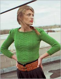 Sandra Sweater - Interweave