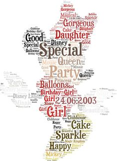 Wordle and tagxedo two sites for diy word art words items similar to framed disney word cloud art minnie mouse on etsy publicscrutiny Choice Image