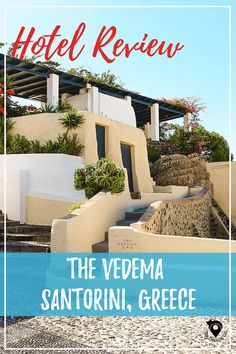 The Trekking Cat: Hotel review of The Vedema in Santorini, A Luxury Collection Hotel | Luxury Travel | Europe | Greece |