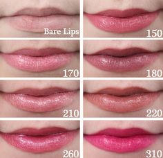 Rimmel Moisture Renew Lipstick Swatches 150 Piccadilly Pink, 170 Ringa Ringa Roses, 180 Vintage Pink, 210 Fancy, 220 Heather Shimmer, 260 Amethyst Shimmer, 310 Back To Fuchsia