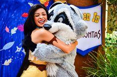Pocahontas and Meeko
