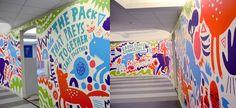 Mindjet X Jess3 Office Mural - Andy J. Miller - Art & Design