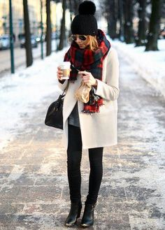 Such a great winter look.