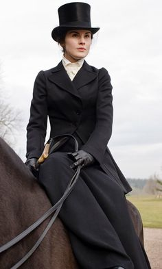 theeverydaygoth: cloudsinourcoffee: strawberryfieldsforever-noel: Downton Abbey Lady Mary (Michelle Dockery) Lady Mary why am I not you? Because I'm Lady Mary, obviously. Lady Mary Crawley, Michelle Dockery, Downton Abbey Costumes, Downton Abbey Fashion, Downton Abbey Saison 1, Downton Abbey Mary, Dame Mary, Matthew Crawley, Riding Habit
