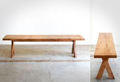 Picnic Modern Bench by Chadhaus