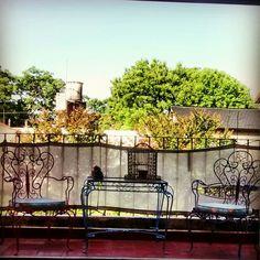 #balcon #hierro #homemade #diy #juegodejardin #jaula