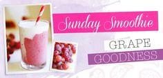 Sunday Smoothie: Grape Goodness | Move Nourish Believe