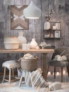 Home decor and interior design trends for Hygge Home, Poltrona Design, Style Deco, Trendy Home, Home And Deco, My New Room, Interiores Design, Cozy House, Home And Living