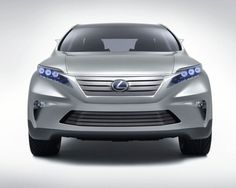 Maybe the Lexus NX front view