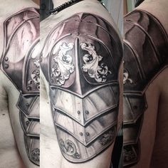 More progress @memorialtattooatl  @premier_tattoosupply #empireinks #bodyarmor #bodyarmortattoo