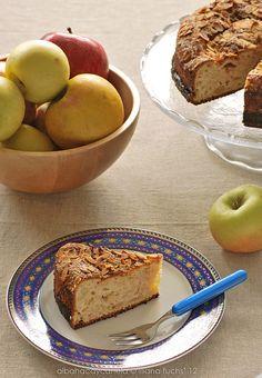 Cake de manzana y almendras al cardamomo -