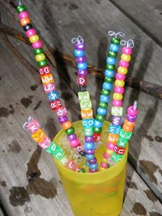 DIY # Bubble Wands fun for a summer craft