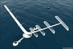 V-Wing Turbine (Vericle Wing).  A possible wind-energy project... very interesting.