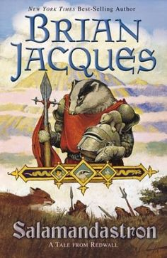Salamandastron by Brian Jacques    5th book in the Redwall series