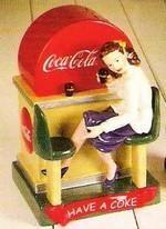 Coca-Cola Diner/Lady Cookie Jar