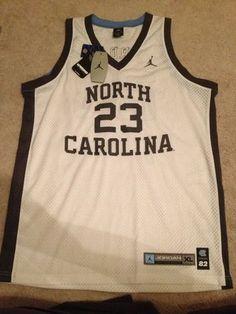 7a782072c97d7a Michael Jordan 23 Nike North Carolina Jersey XL XLarge uprising rare  throwback