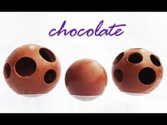 How to Make a Chocolate Ball Sphere Decoration HOW TO COOK THAT Ann Reardon - YouTube