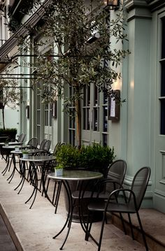 A little stuffy but luxurious teal color. Charlotte Street Hotel | London