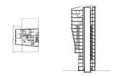 BLUE Residential Tower New York, 2004-2007
