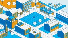 Dream Your City. Cliente: Ecosistema urbano / Descripción: Animación del proyecto Dream Your City para la Bienal de Venecia, para el pabelló...