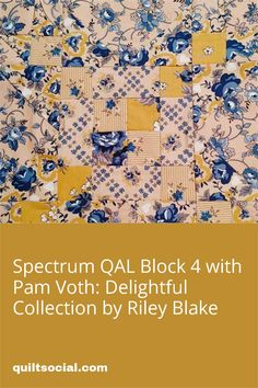 Pam Voth shares her experience as a beginner quilter in making Block 4 of the QUILTsocial Spectrum QAL using Riley Blake Delightful Fabric Collection. 💙💫 See what she has to say about how she created the flying geese and half square triangles that are featured in Block 4. #QAL2020 #TheSewGoesOn #letsquiltalong #patchwork #rileyblakedesigns #fabrics #handmade #quiltproject #freequiltingpatterns #quiltlife Half Square Triangles, Flying Geese, Riley Blake, Quilt Patterns Free, Craft Tutorials, Quilting Projects, Spectrum, Sewing Crafts, Cross Stitch