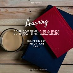 Learning how to learn is life's most important skill. - Tony Buzan Best Inspirational Quotes, Great Quotes, Improve Your English, English Quotes, Improve Yourself, Learning, English Quotations, Education, Teaching