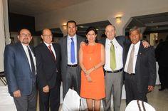 En el festejo del 65 aniversario: El alcalde de San Miguel Allende, Mauricio Trejo Pureco y más invitados.