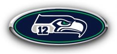 Ford Seattle 12th Man Overlay Decal Emblem