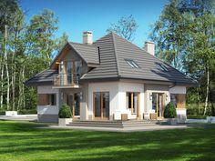 Projekt domu Opałek II N (TUM-698) - 135.51m²