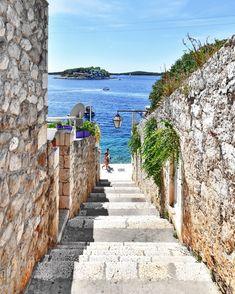Hvar / Croatia by Damir Barić - Real estate photographer Visit Croatia, Croatia Travel, Italy Travel, Places To Travel, Places To See, Travel Destinations, Holiday Destinations, Croatia Pictures, Places Around The World