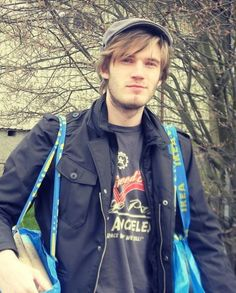 My favorite Swedish boy! PewDiePie <3  AND HE SHOPS AT IKEA!?! I didn't think I could love him any more!!!