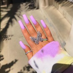 36 fabulous long coffin nail designs you need to try in 2020 - coffin . - 36 fabulous long coffin nail designs to try in 2020 – coffin nails are always the best choice for - Acrylic Nails Kylie Jenner, Summer Acrylic Nails, Best Acrylic Nails, Summer Nails, Spring Nails, Baby Pink Nails Acrylic, Coffin Nails Designs Kylie Jenner, Acrylic Nail Designs Coffin, Coffin Nails Long
