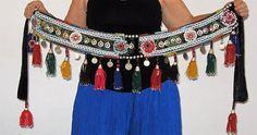 Tribal belt Tribal belly dance belt ATS belt Gypsy belt