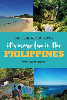 """If you've ever considered visiting the Philippines, you may have heard of the slogan """"It's More Fun in the Philippines."""" Just like many slogans, this one was created by the country's tourism department—one that gained a lot of traction among locals and tourists. But is this slogan just clever marketing, or is it really more fun in the Philippines? 